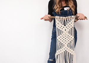 Modern Macrame Workshop 2016