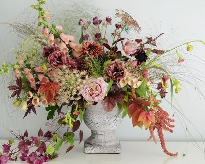 Photo/Flowers/Arrangement: Louise Warner