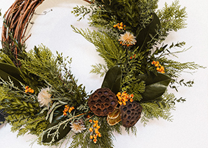 Natural Winter Wreaths 2017