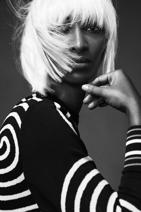 Yomi Abiola, photographed by Kalle Gustafsson,Italian Vogue