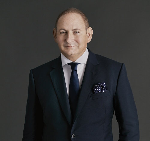 John Demsey, executive group president of Estée Lauder Companies, Inc.