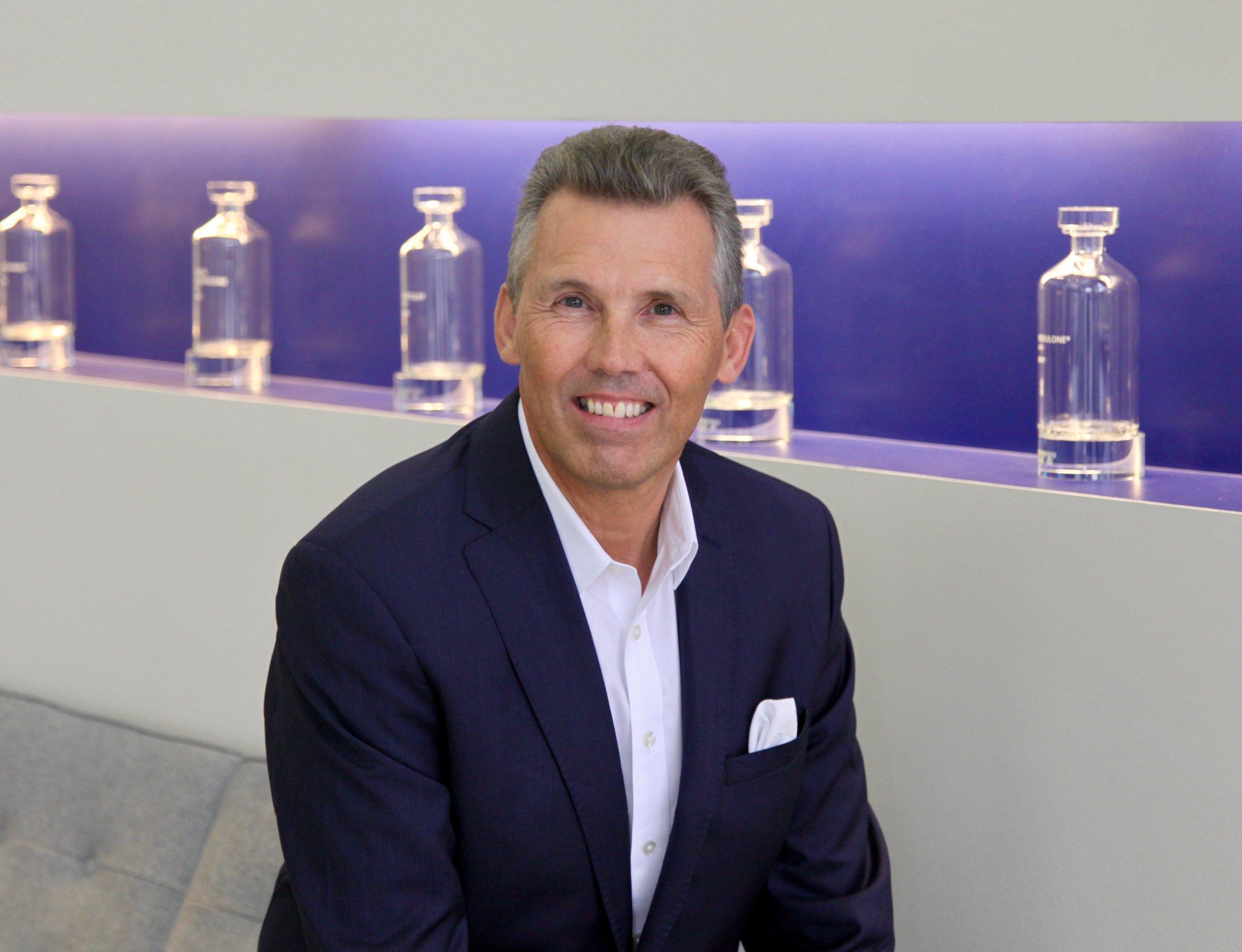 IFF Master Perfumer Steve Nicoll