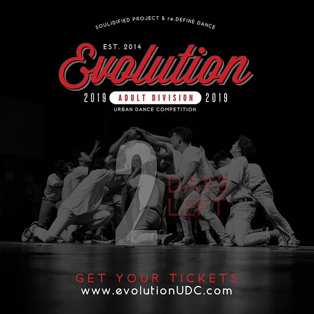 2 Days Left! Have you bought your tickets? To purchase pre-sale tickets online, visit the link on our bio.⠀ https://soulidifiedproject.ticketspice.com/evolutionudc2019⠀ -⠀ Photography By: @movemedia_pics⠀ ---⠀ #create. #dance. #evolve⠀ -⠀ #evolutionUDC2019 #urbandancecompetition #choreography #dancecompetition #hiphopdance #bayareadancecommunity