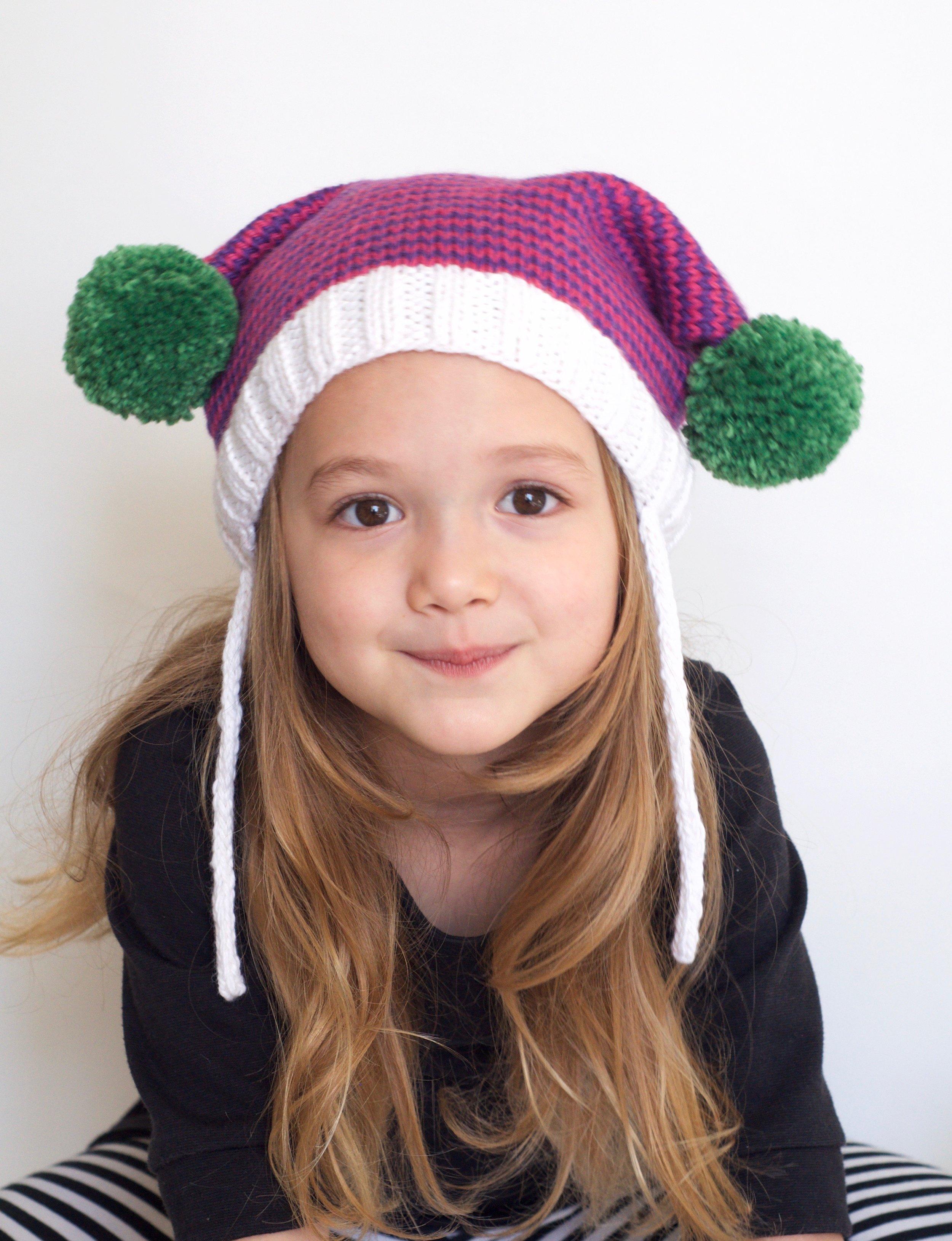 Mrs. Claus Boxy Hat