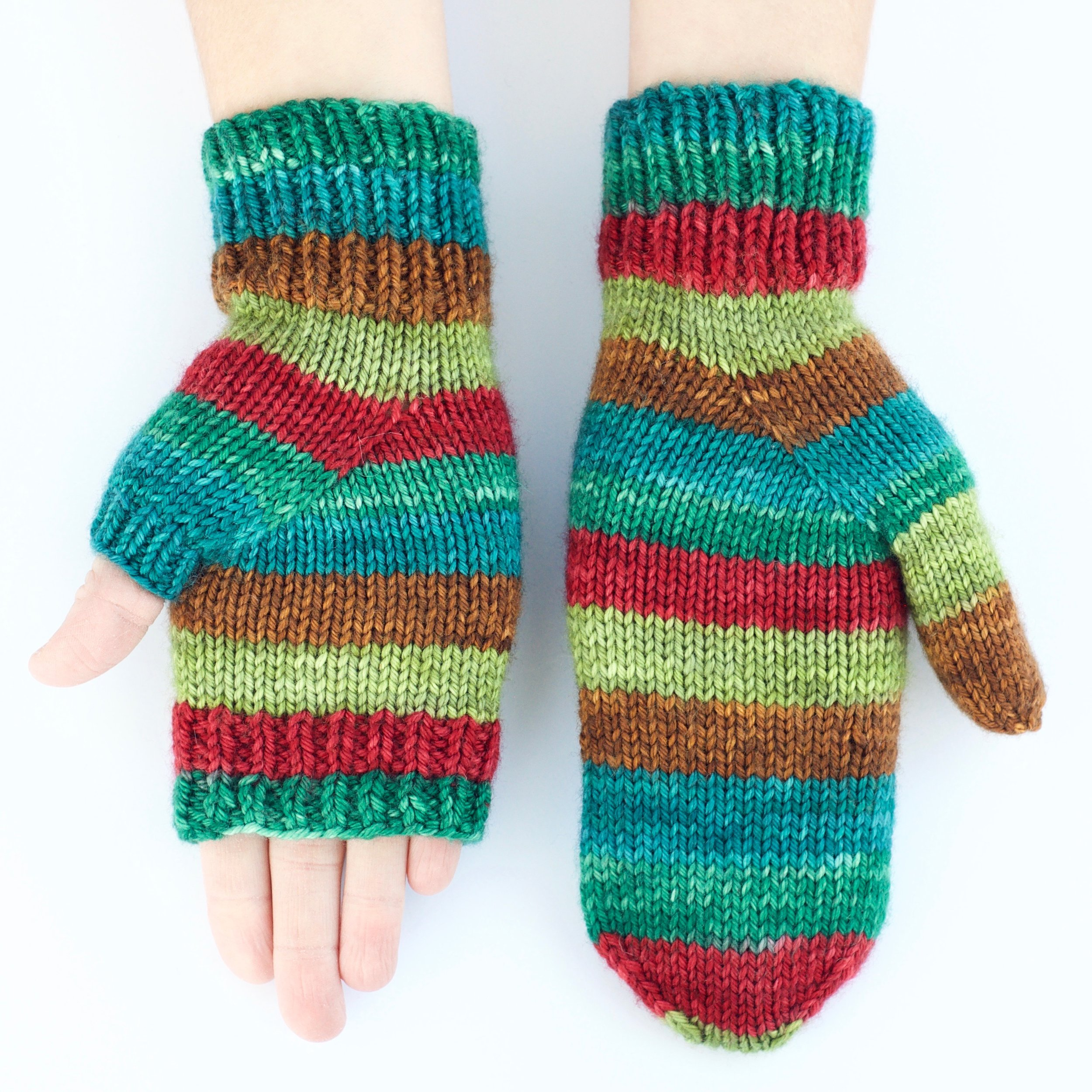 Palmistry Worsted Mitts