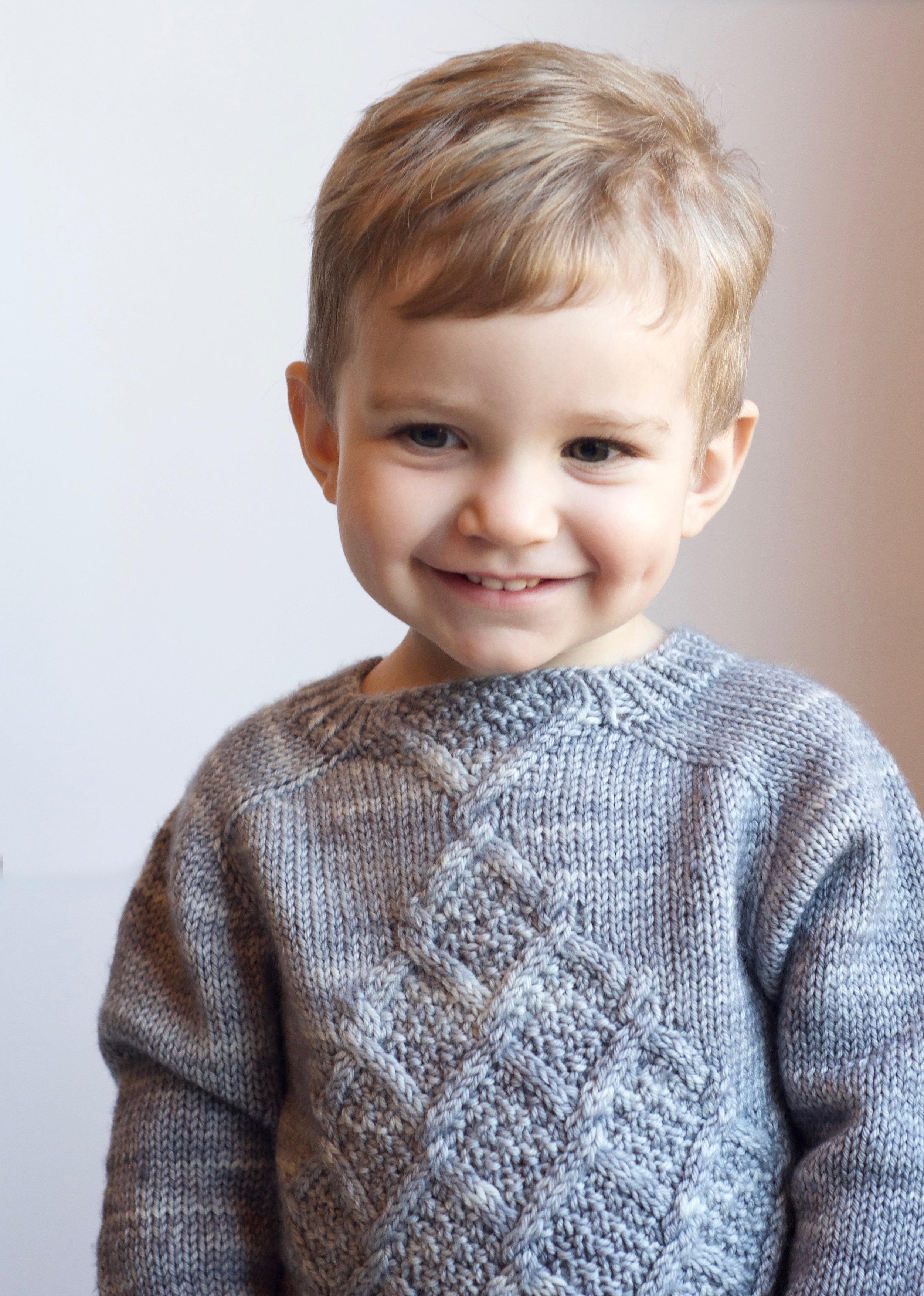 Little Tangled Tendril Pullover