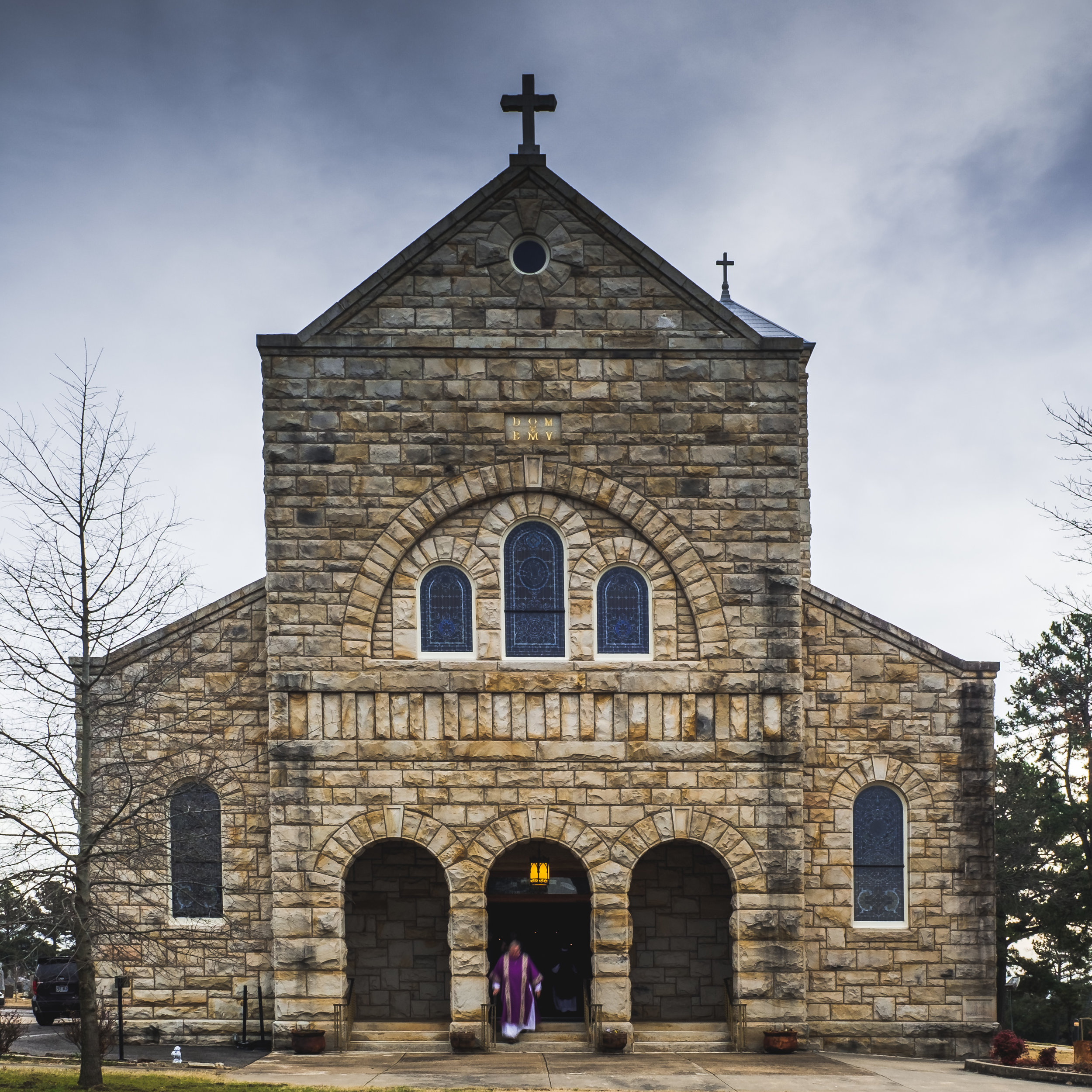 St. Mary's Catholic Church in Altus, Arkansas.