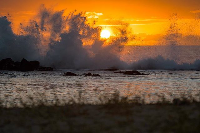 The Pacific showing Kona Natural Energy Lab what true power is.
