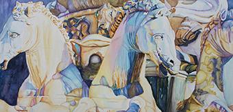 Neptune's Sea Horses – Florence, Italy