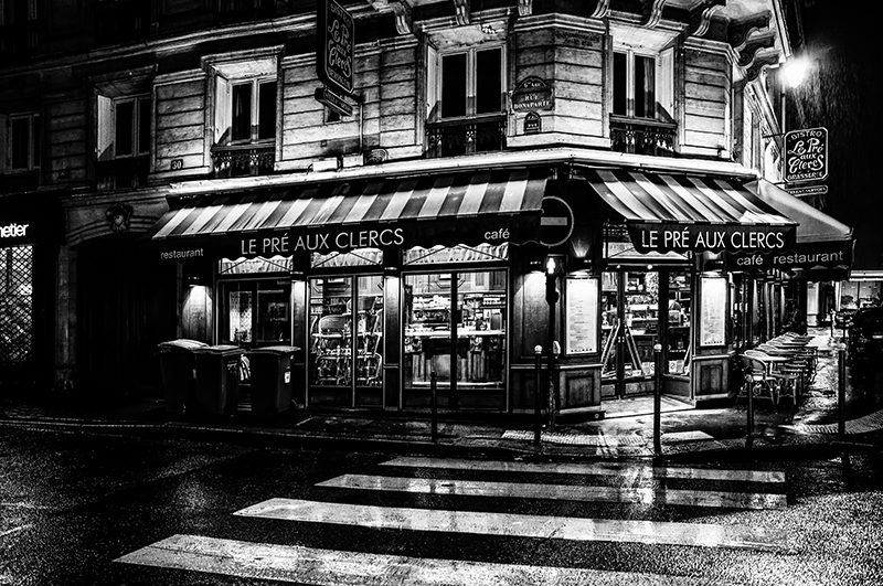 Paris at Night - Rue Bonaparte