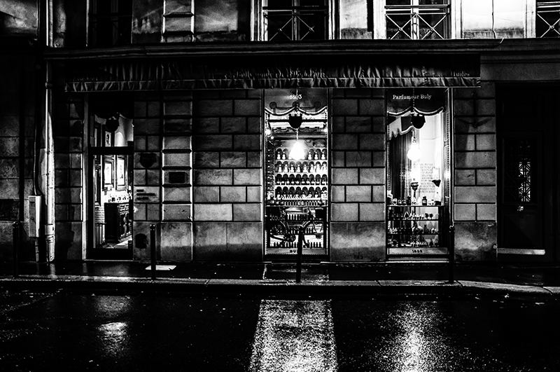 Paris at Night - Rue Bonaparte 2