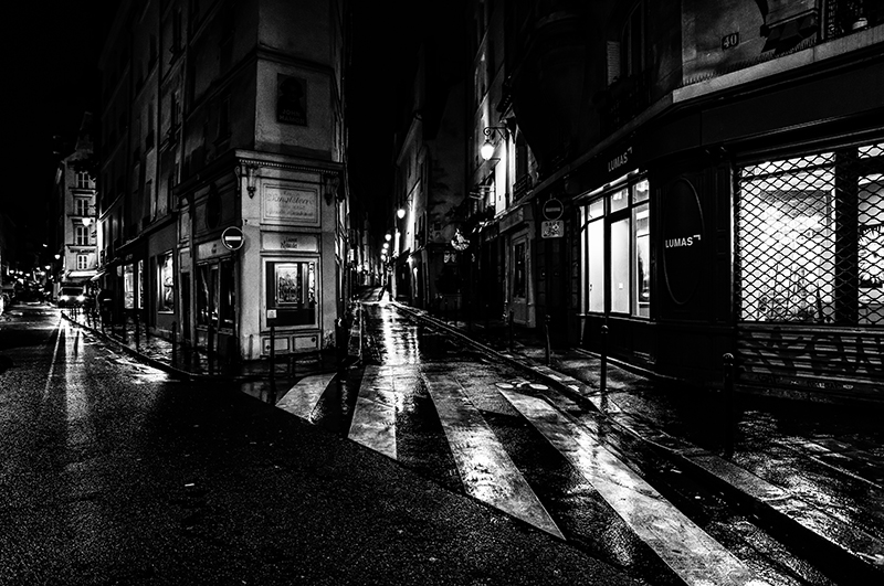 Paris at Night - Rue de Seine
