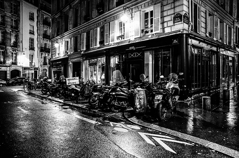 Paris at Night - Rue Jacob