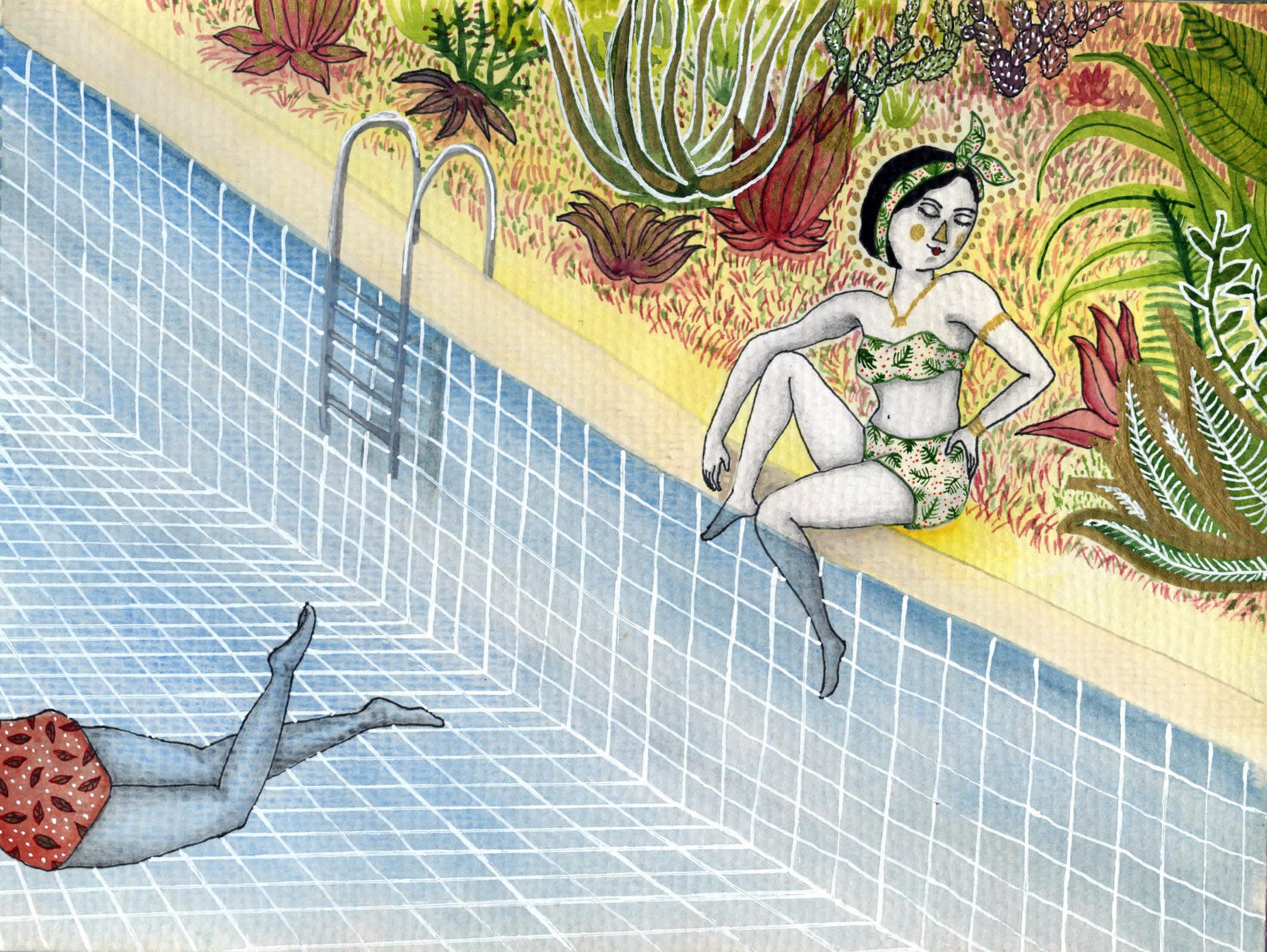 Secret Pools