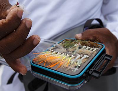 Turneffe Flats - Fly Fishing fly box