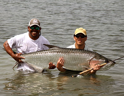 Tarpon fishing is best in the summer months