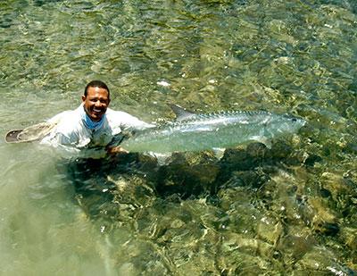 Belize tarpon released