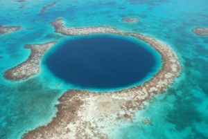 The Blue Hole at Lighthouse Reef