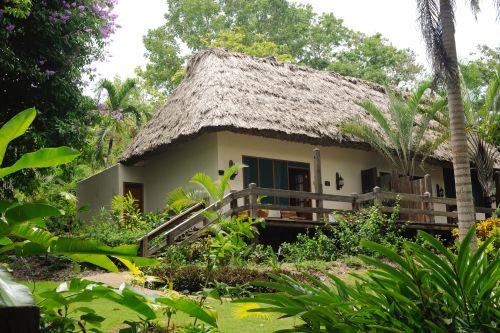 Chaa Creek cabins in Belize