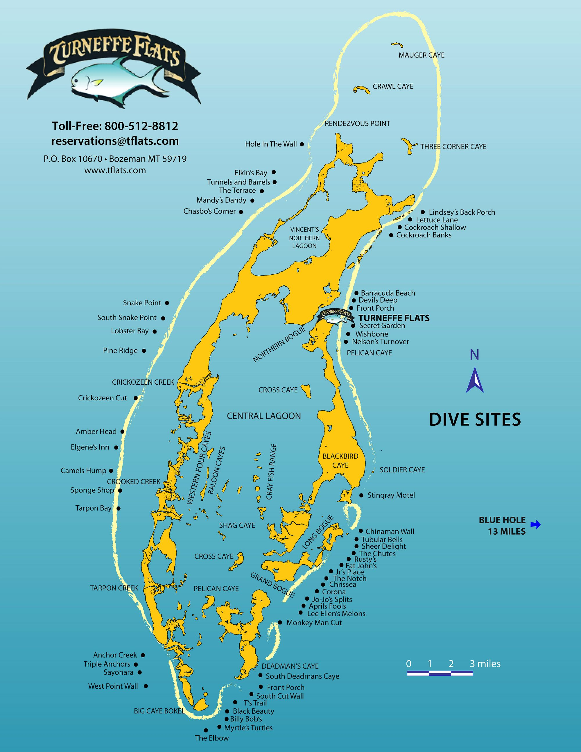 The best scuba diving sites in Belize are located on Turneffe Atoll