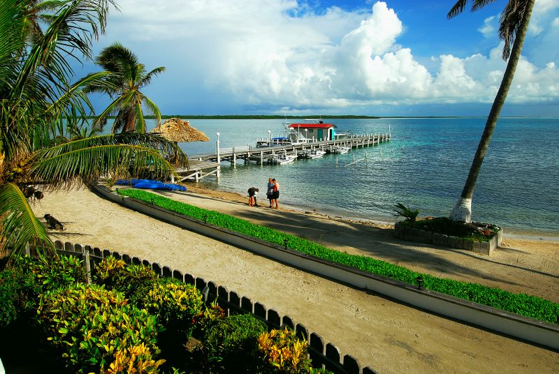 Belize fly fishing lodge
