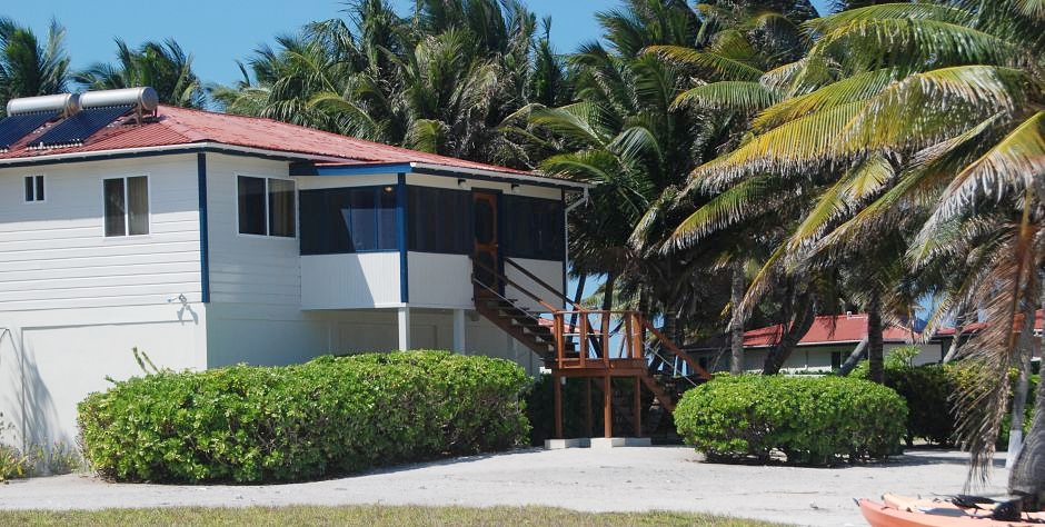 Reef Villa at Belize's best fly fishing lodge - Turneffe Flats