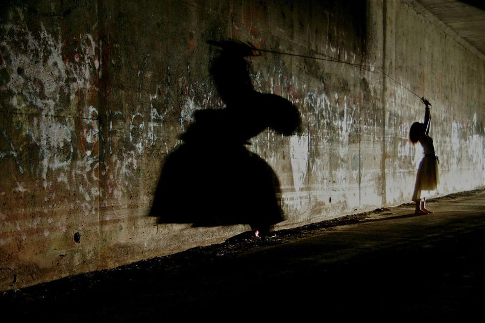 The shadow strikes back by Tihomir Trichkov.