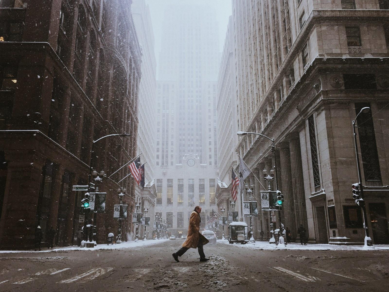 "Winner – ""Blizzard Days"" by Cocu Liu, taken in Chicago, USA"