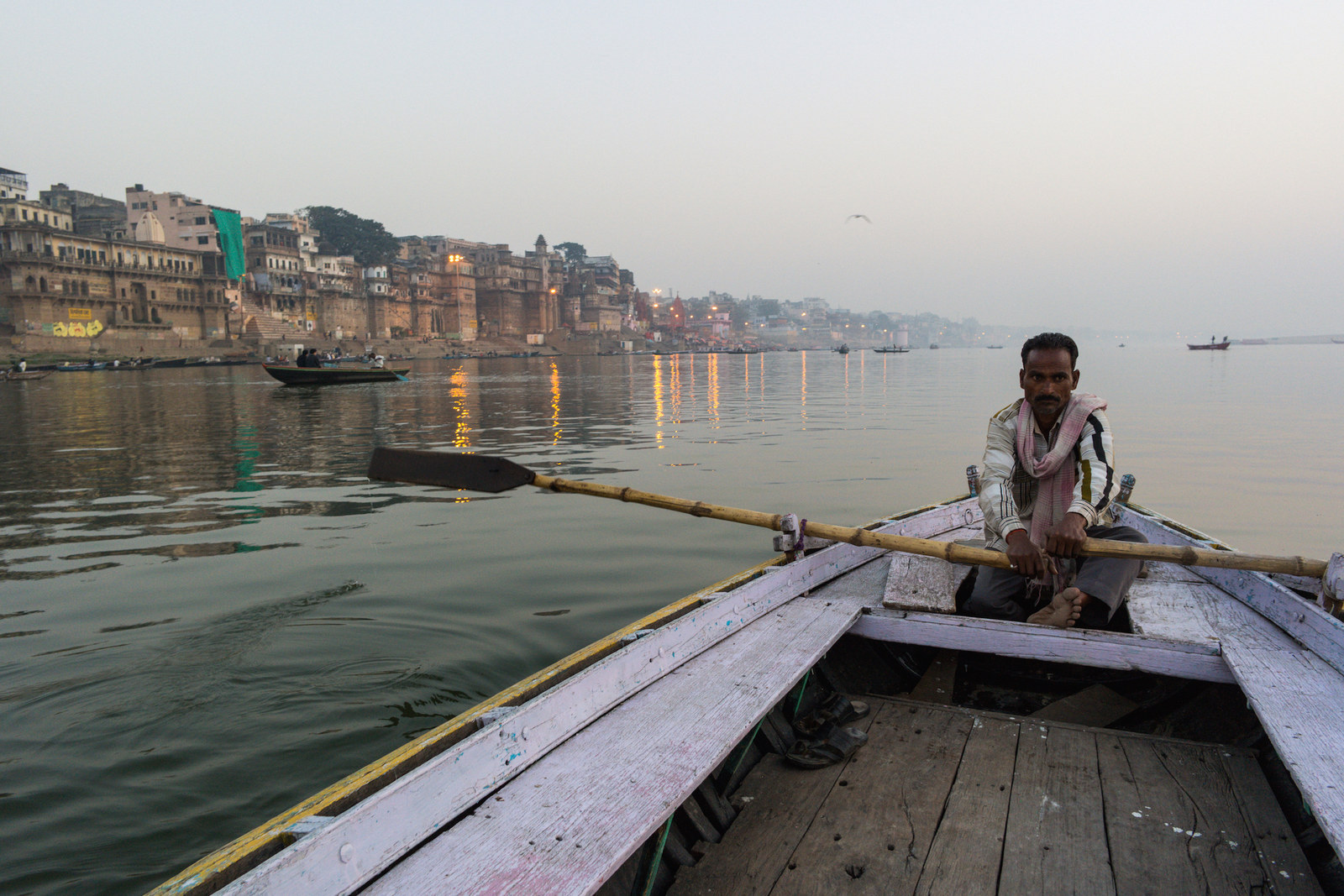 """Waiting for Tourists"" by Grzegorz Piaskowski, taken in Varanasi, India"