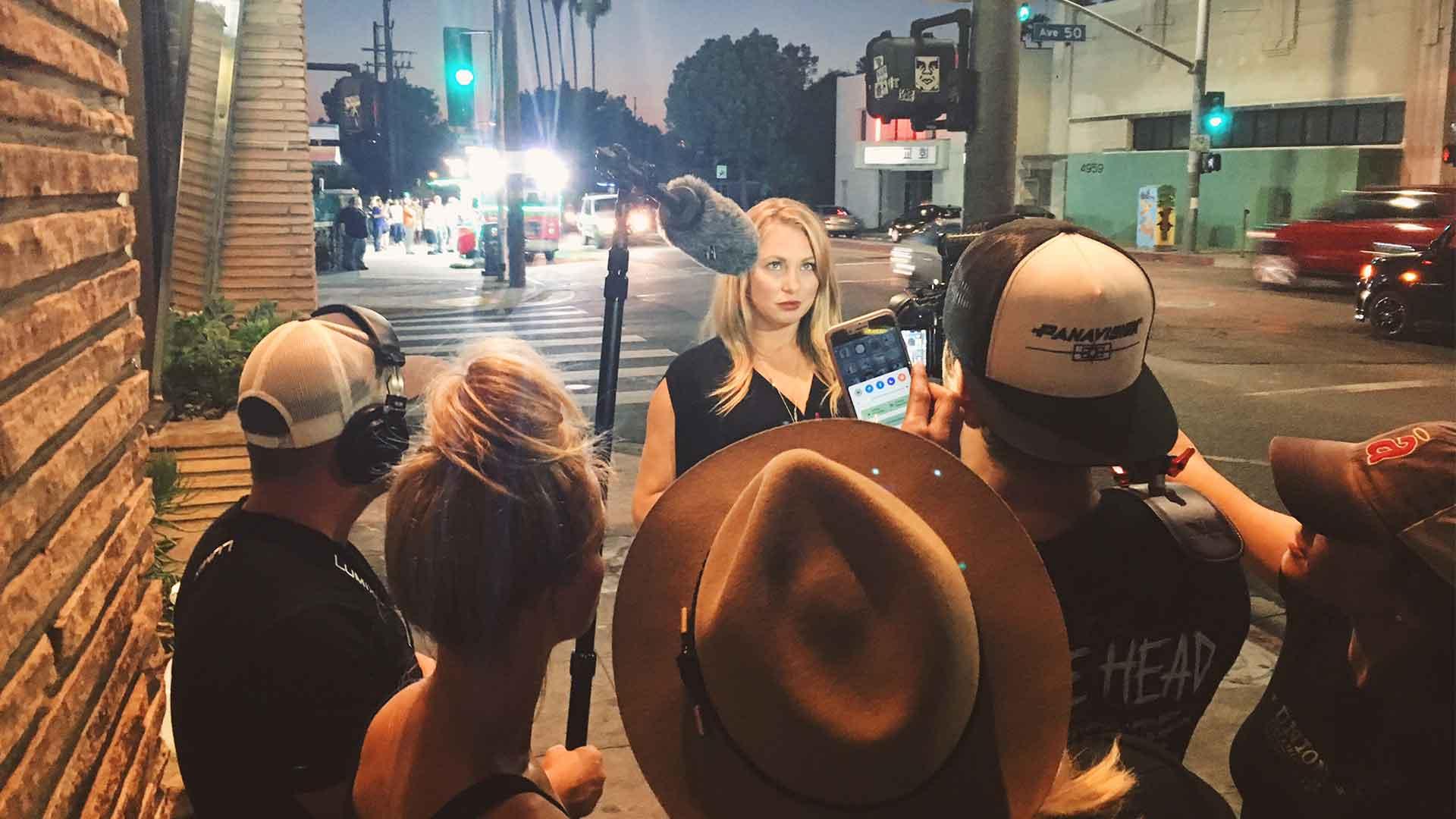 Reality TV Pilot Filming