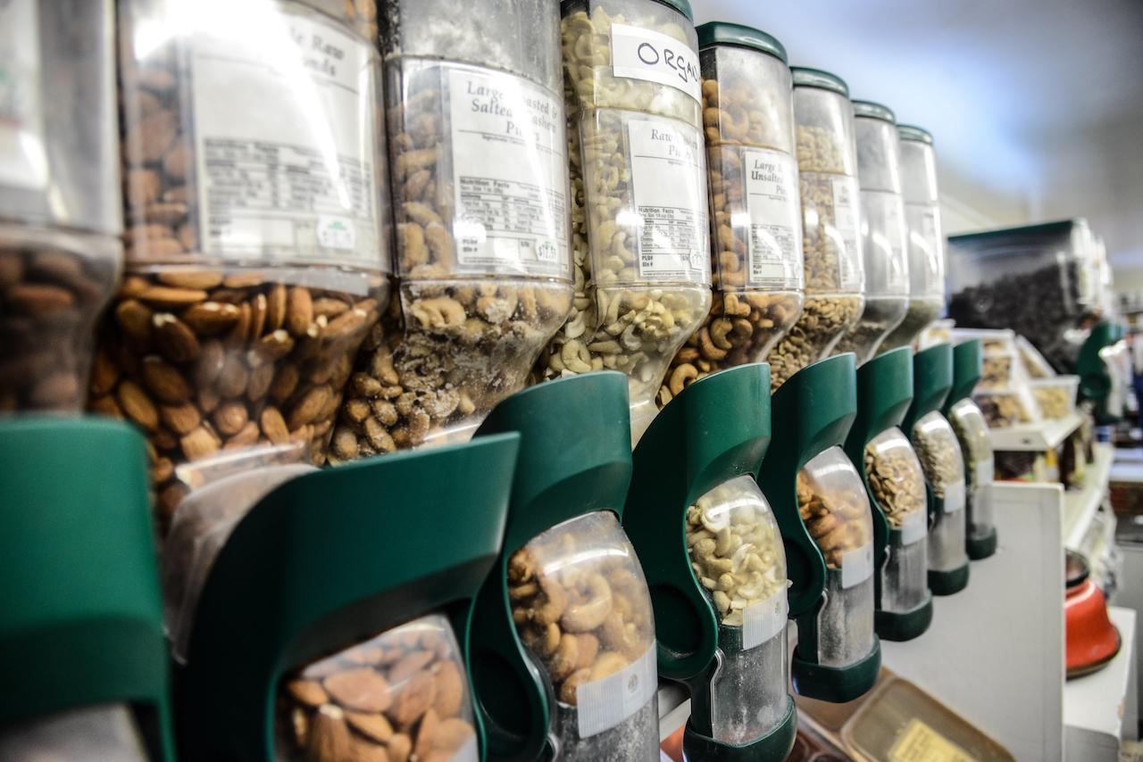 Bulk Grains, Flours, Beans, and Nuts