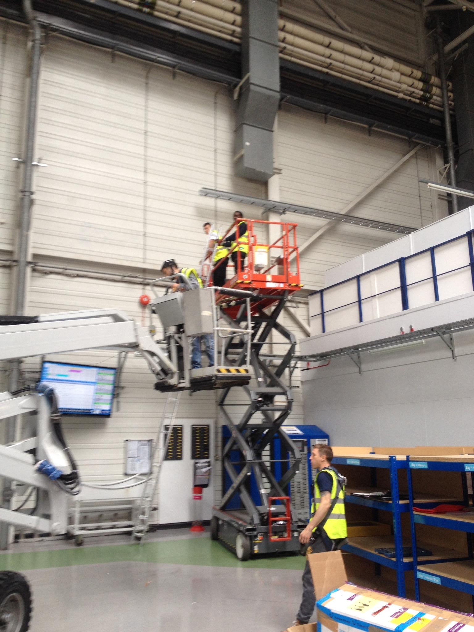 Start of ladder racking.jpg