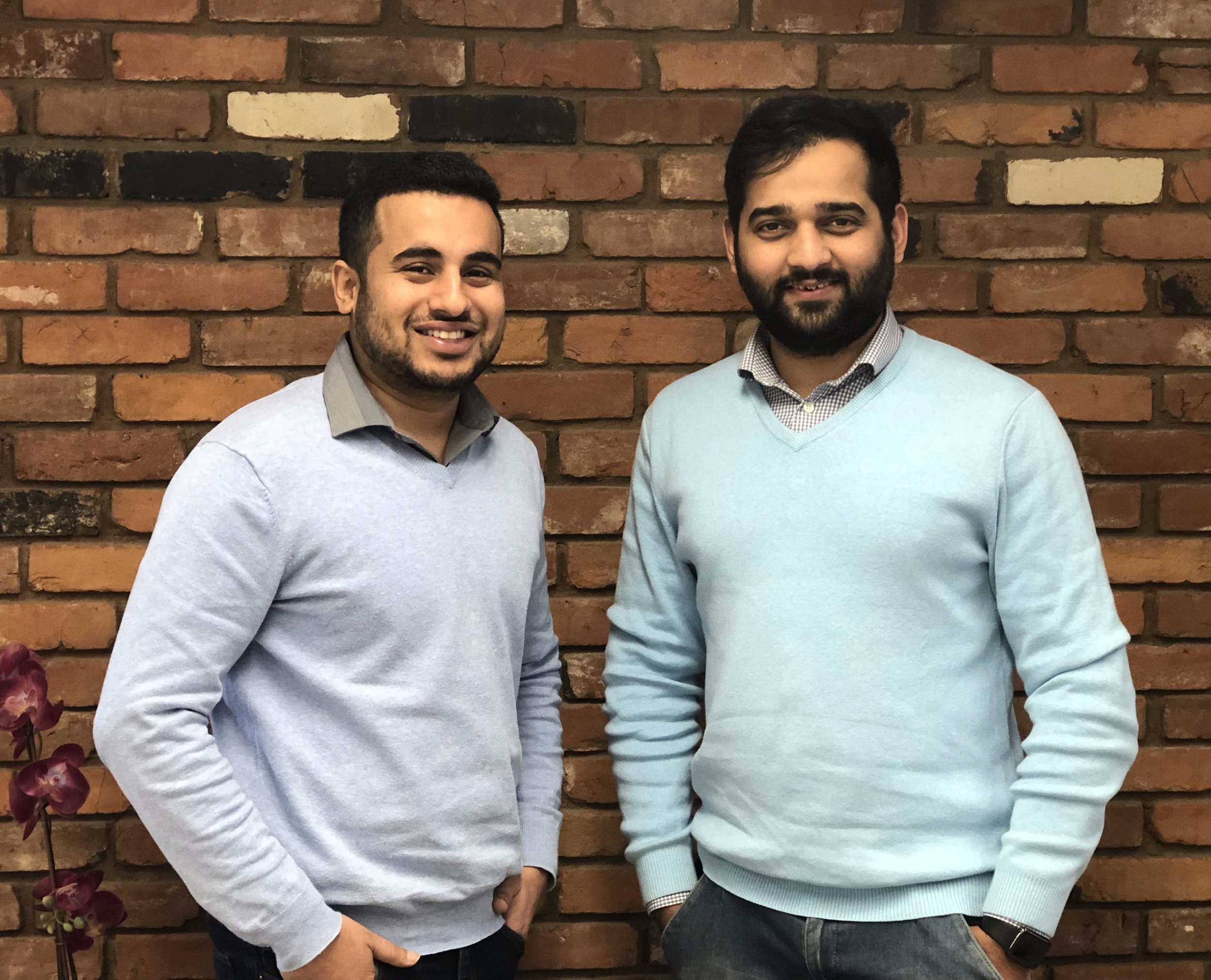 FreshWorks Studio co-founders and UVic alumni: Rohit and Sam
