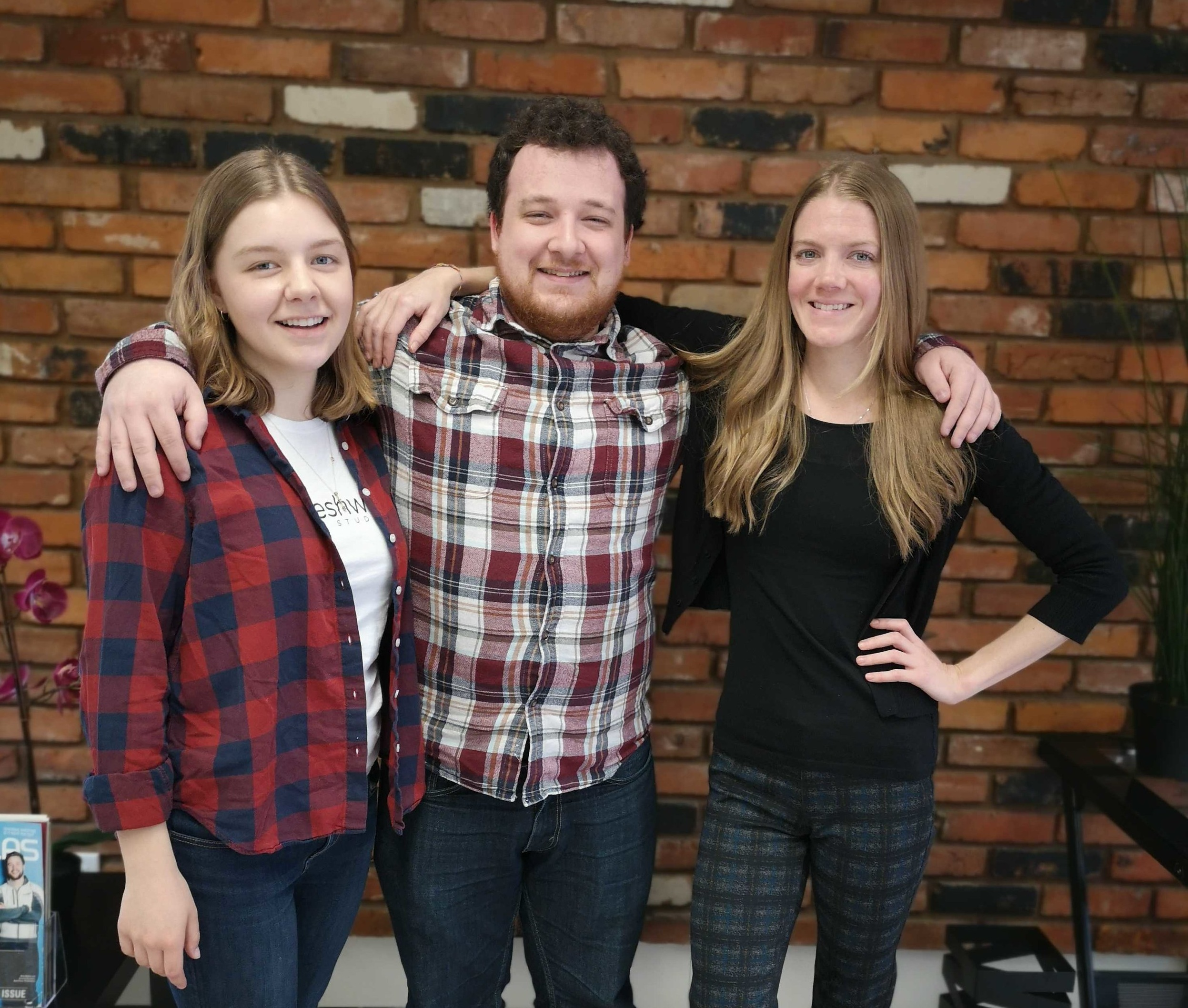 The FreshWorks Business Analysts that have your user stories covered during the discovery phase of your development project: Sienna, Zac, and Stephanie