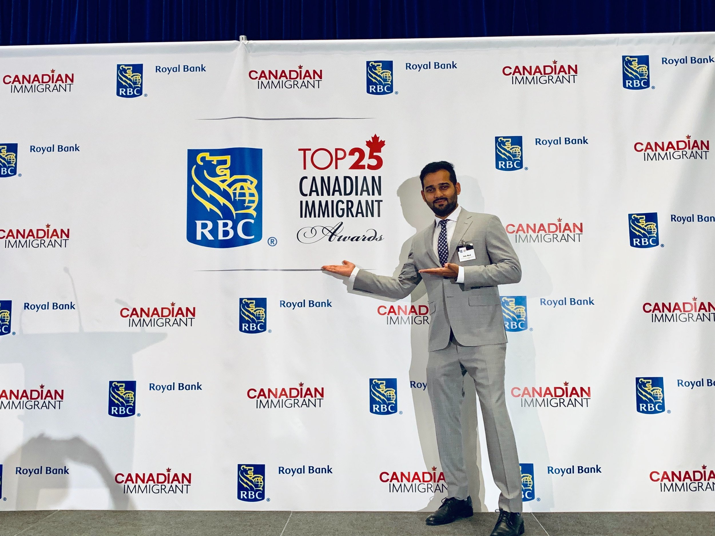FreshWorks CEO at the RBC Top 25 Canadian Immigrant Awards in Toronto, ON on June 25, 2019.
