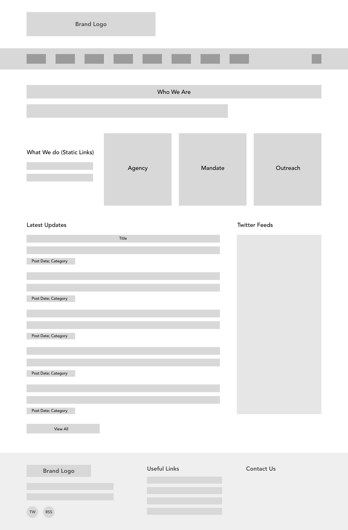 IIO Initial Designs