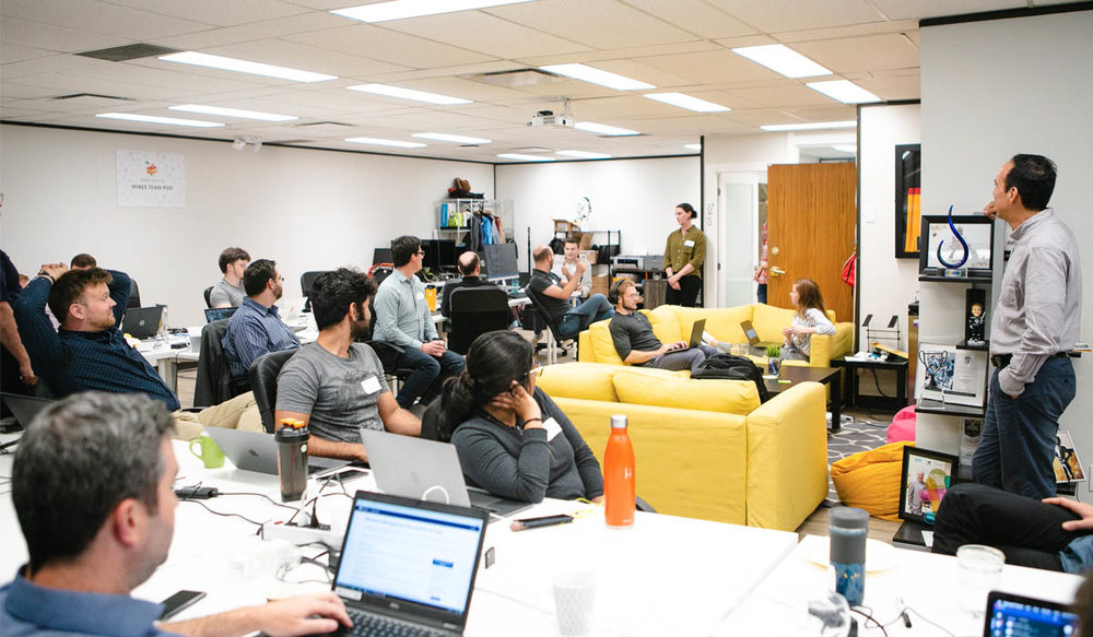 We hosted a hackathon for the Mines Digital Services team in July. It was an opportunity for the team to experiment with creating different features for the web application.