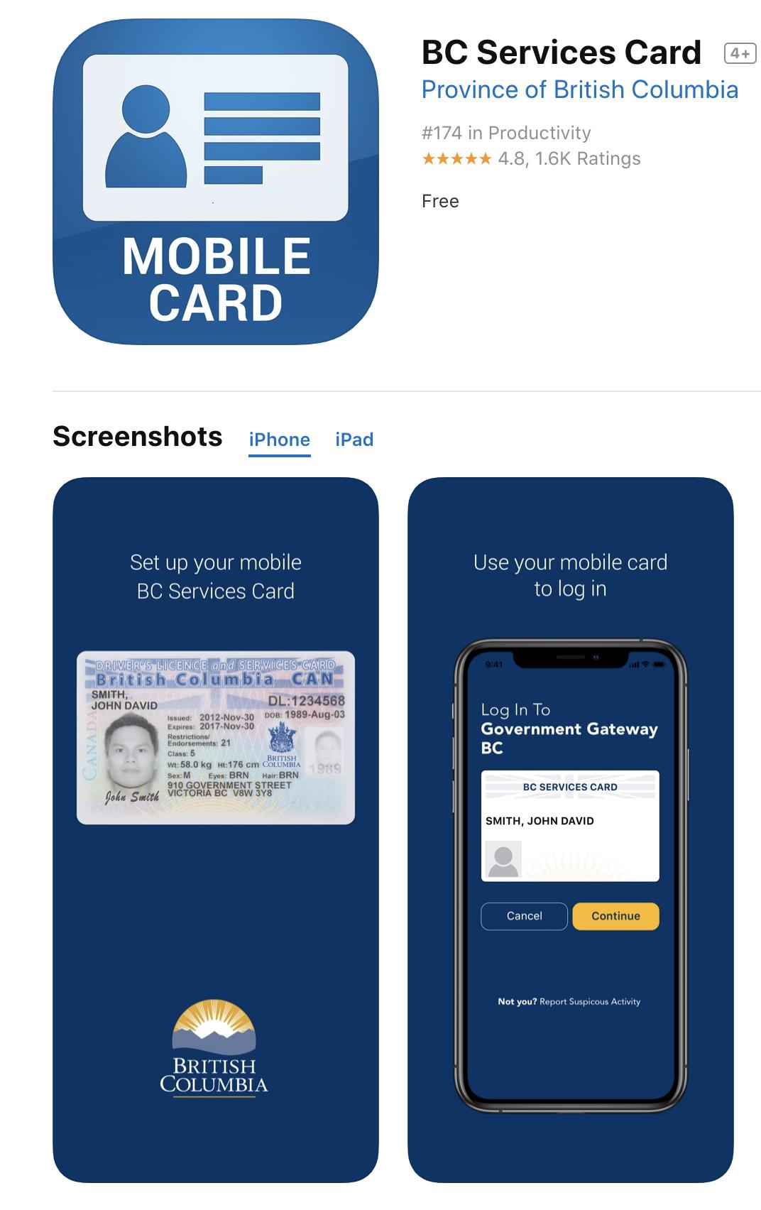 BCSC iOS App reviews.png