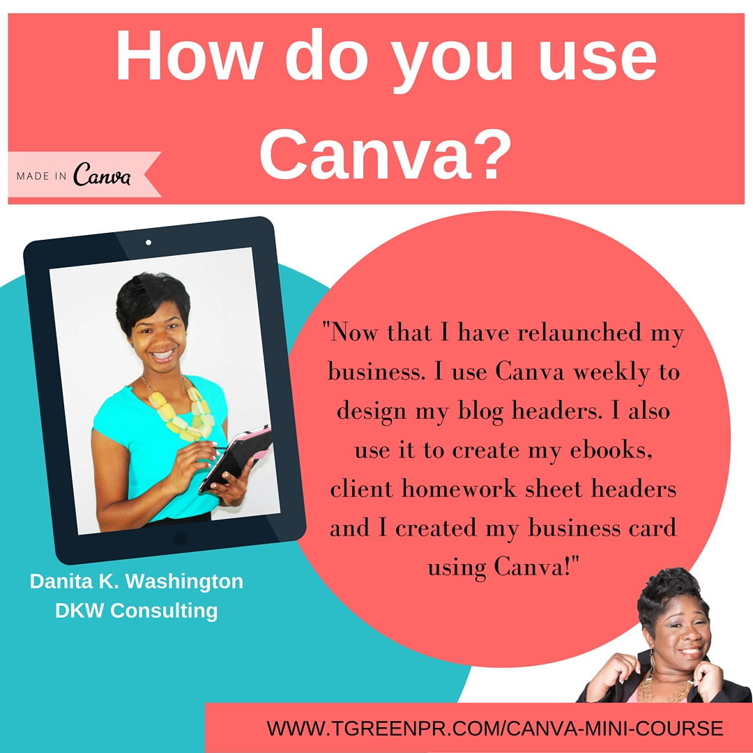 Tamell Green Canva