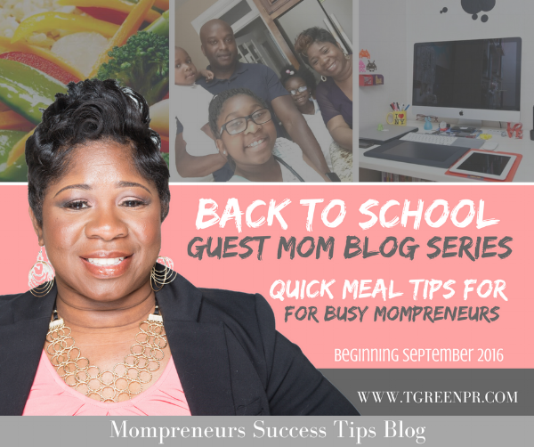 Tamell Green Back to School Guest Mom Blog Series