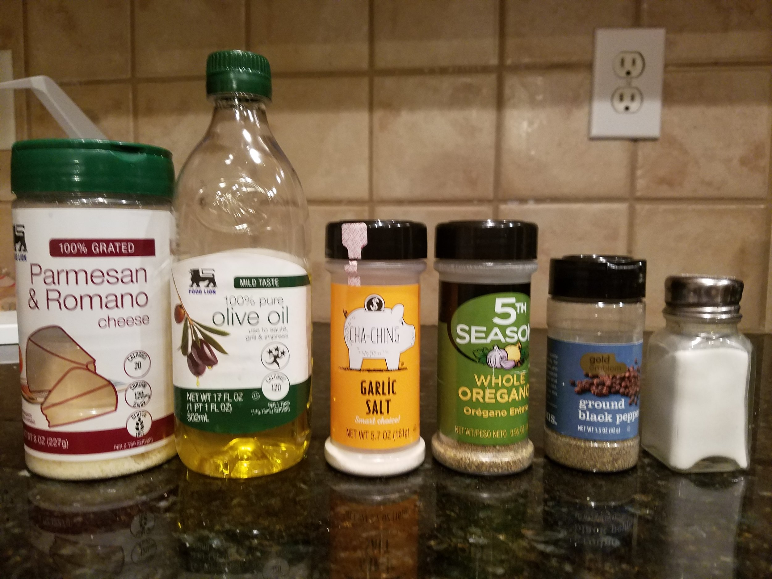 Seasoning of your choice. These are what I use. Photo Credit: Finesse Lyons