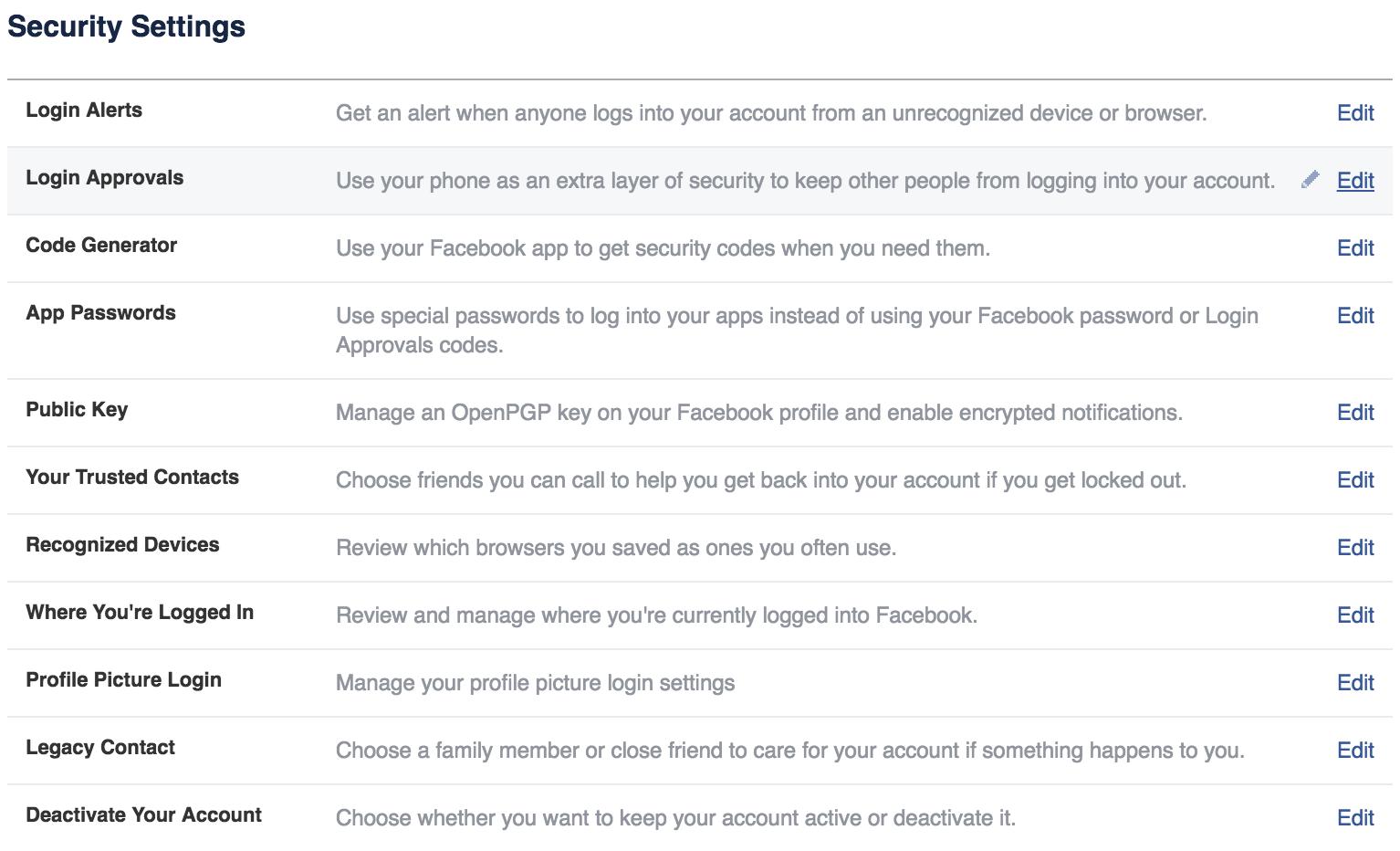 Facebook Security Tamell Green