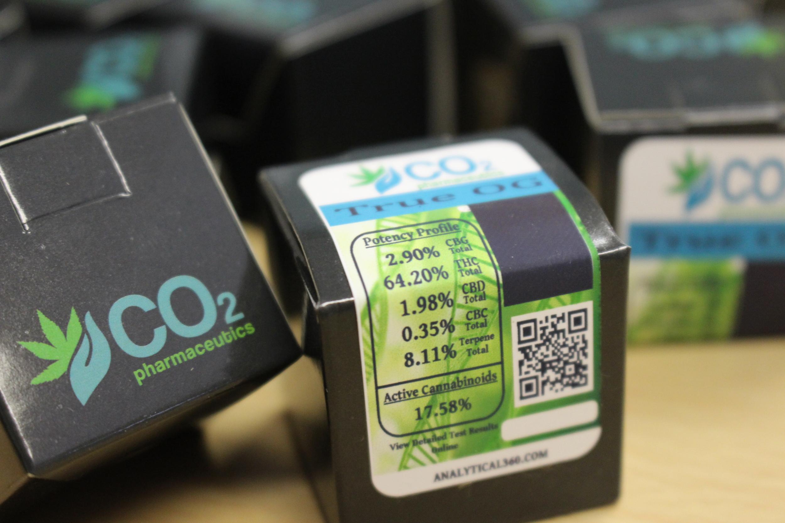 Half gram CO2 oil from True OG strain processed by CO2 Pharmaceutics