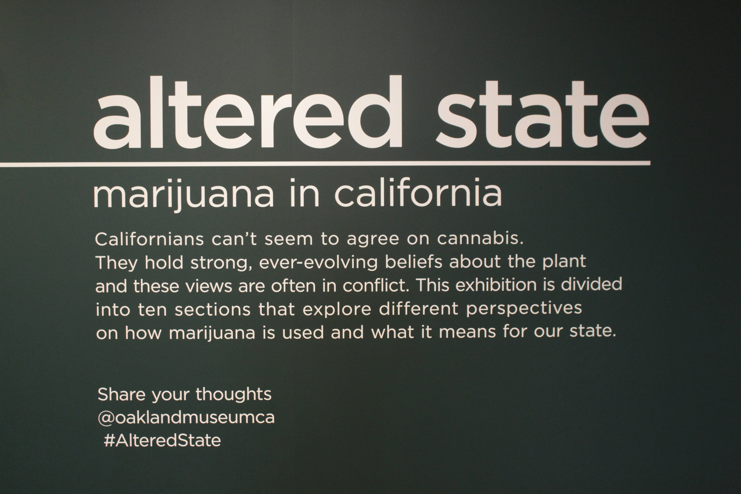 Altered State Oakland museum of california information.JPG