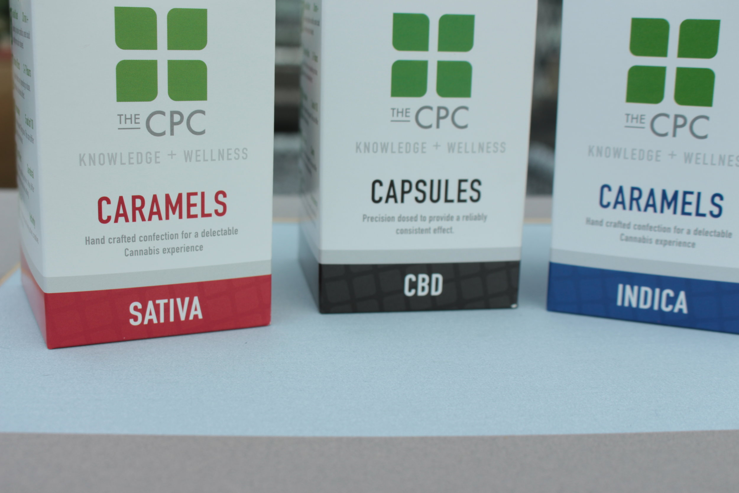 CBD capsules Indica Staiva Caramel CPC i502 retail packaging