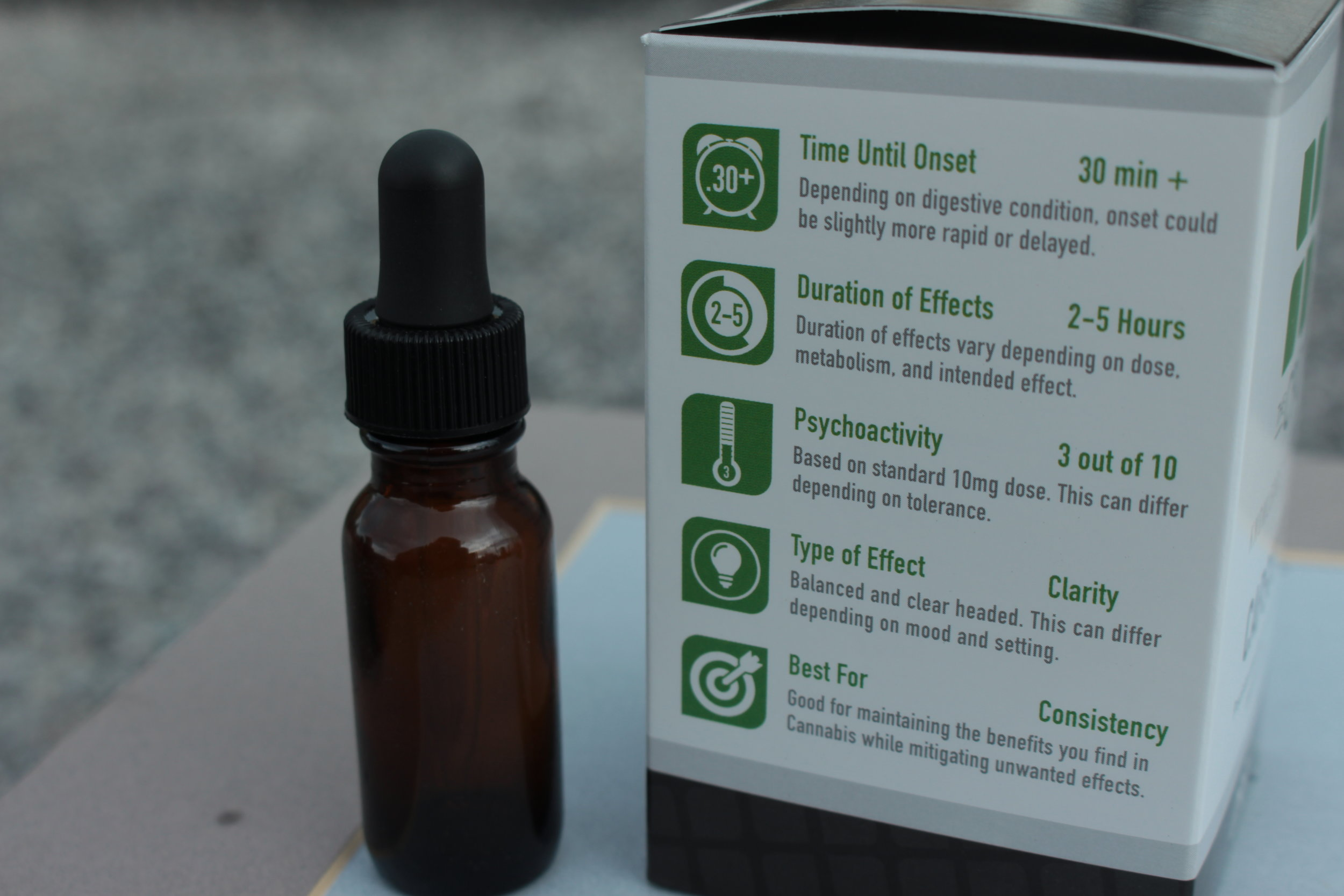 CBD Tincture Information i502 retail packaging