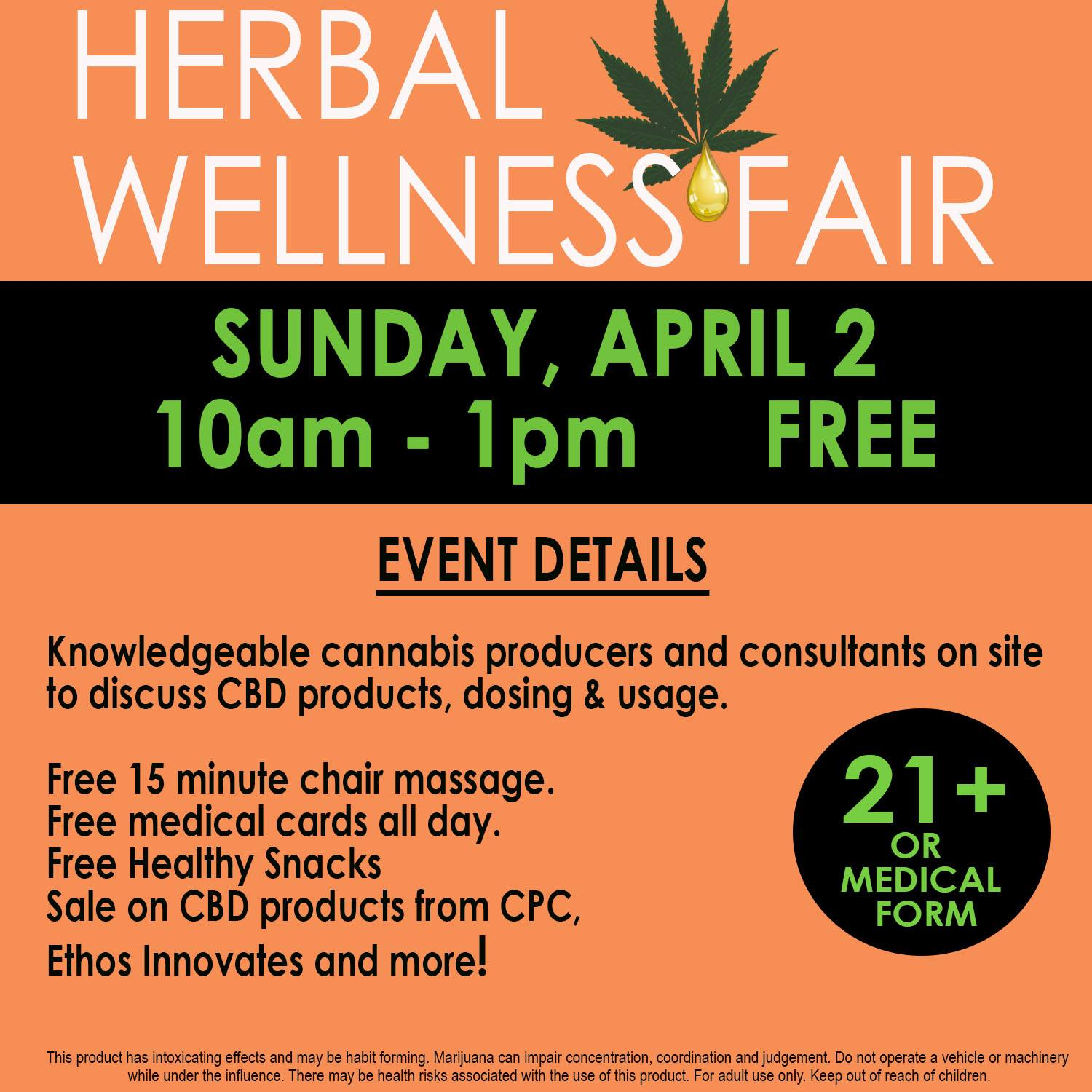 Bellingham Wellness Fair Poster