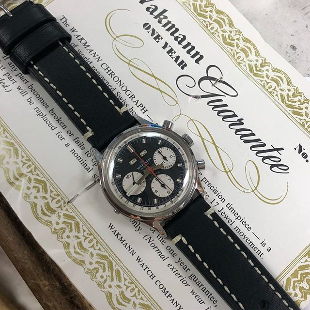 New to jose sr personal collection #wakmann #tripledatewatch #artdialwatch #artdialwatchsouthfield #watchnerd #panda #watchrepair #watchrepairmichigan