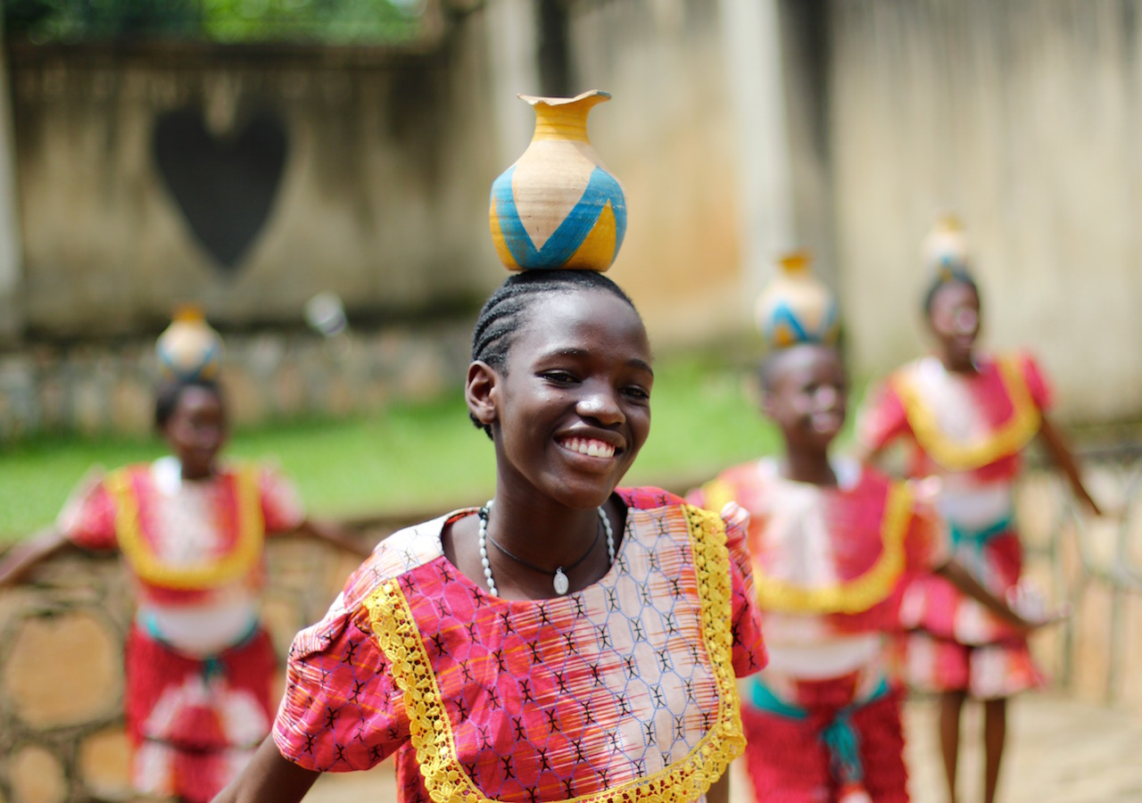 Bitone Center's hope is to create a performance troupe, where children and youth can showcase their talents and build their leadership and interpersonal skills. (In this photo: Cissy)