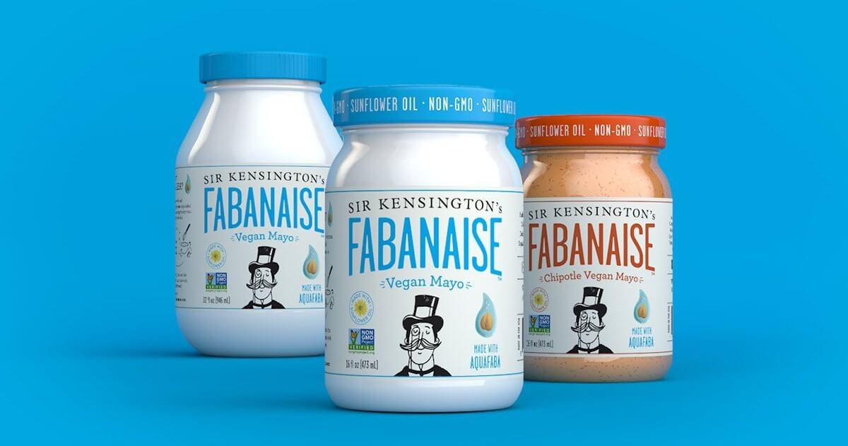 vegan may made from upcycled aquafaba
